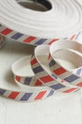Cotton Linen Blended Ribbon - Mail (1.5cm x 1 yard)