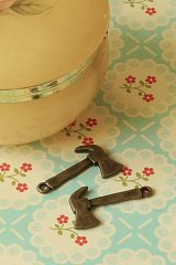Antique Style Bronze Charms - Little Axe