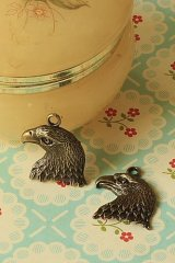 Antique Style Bronze Charms - American Eagle