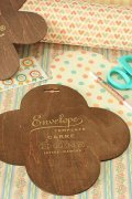 Antique Style Envelope Template - Diy Gift Box