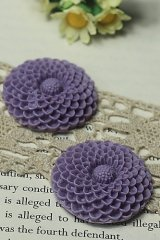 """FREE SHIPPING - Beautiful Resin Cabochon - HD55 (3.5cm or 1.4"""")"""