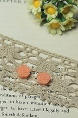 """FREE SHIPPING - Beautiful Resin Cabochon - HD190 (1.1cm or 0.45"""")"""