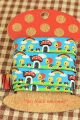 FREE SHIPPING - Woven Jacquard Trim Ribbon - Little Ducks