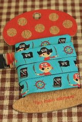 FREE SHIPPING - Woven Jacquard Trim Ribbon - Little Pirates