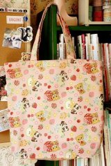 Free Shipping Handmade ECO-Friendly Shopping Bag Tote - Cute Vintage Animals
