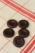Natural Wooden Button Set - 5p