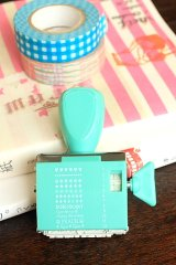 Cute Roller Message Patterns Stamp
