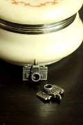 Antique Style Bronze Charms - Little Camera