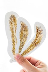 Kawaii Paper Bookmarks - Flowing Wheat