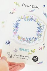 Kawaii  Sticky Notes Memo - Flowers
