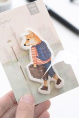 Kawaii Sticky Notes Memo - Dog Travel