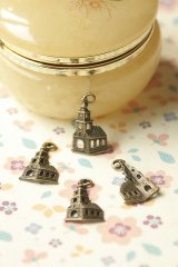 SALE-Antique Style Bronze Charms - Little Church