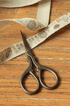 Photo1: Antique Style Scissors - H