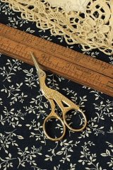 Antique Style Scissors - E gold