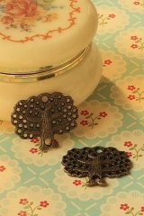 SALE-Antique Style Bronze Charms - Tree