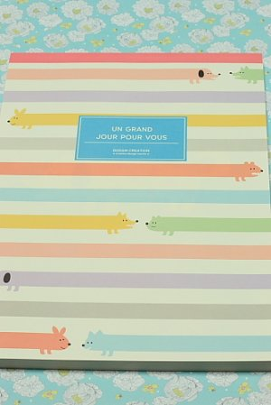 Photo1: Kawaii Letter Pad - Un Grand Jour Pour Vous (63 sheets)
