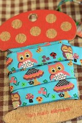 1.6cm x 5 Yards - Woven Jacquard Trim Ribbon - Little Owl