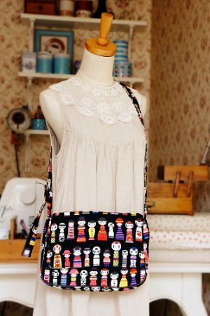 Photo1: Kawaii Japanese Kawaii Japanese Messenger Bag Women Bag