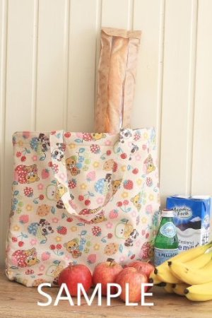 Photo2: Kawaii Handmade ECO-Friendly Shopping Bag Tote - Cute Vintage Animals