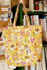 Free Shipping Handmade ECO-Friendly Shopping Bag Tote - Cute Japanese Fabrics
