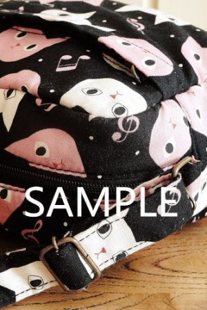Photo3: Free Shipping Cute Handmade Japanese Kokka Fabric Shoulder Kids Bag - Little Owls