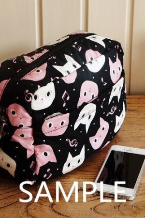 Photo5: Free Shipping Cute Handmade Japanese Kokka Fabric Shoulder Kids Bag - Little Owls