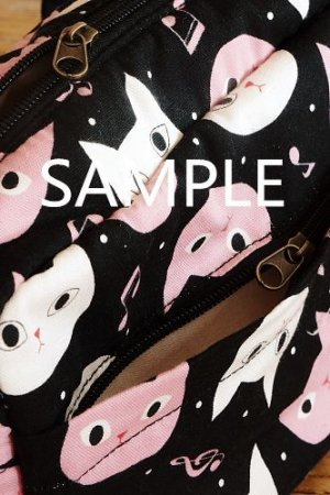 Photo4: Free Shipping Cute Handmade Japanese Kokka Fabric Shoulder Kids Bag - Little Owls