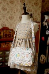 Free Shipping Cute Handmade Japanese Kokka Fabric Shoulder Women Kids Bag