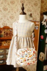 Free Shipping Cute Handmade Japanese Kokka Fabric Shoulder Women Bag