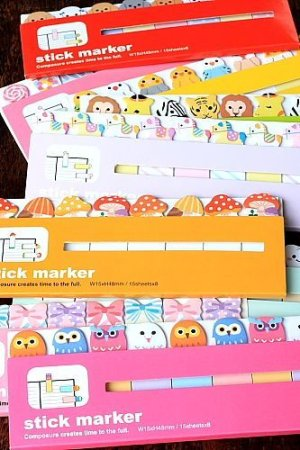 Photo3: Kawaii Sticky Notes Memo