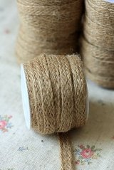 Natural Linen Ribbon - 80mm x 5 yards