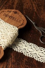 Cotton Lace Ribbon - 4.4cm x 1 Yard