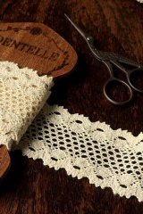 Cotton Lace Ribbon - 5.5cm x 1 Yard