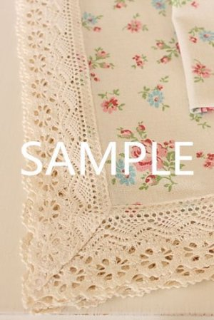 Photo2: Cotton Lace Ribbon - 2.3cm x 1 Yard