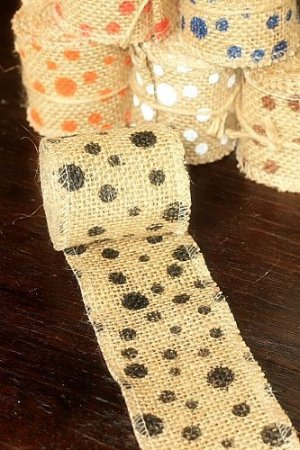 """Photo2: SALE - Natural Wide Linen Ribbon Roll Rustic Vintage Wedding Decor (6cm x 2m or 2.4Cute Stationery"""" x 2.2 yds)"""""""