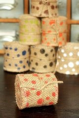 "SALE - Natural Wide Linen Ribbon Roll Rustic Vintage Wedding Decor (6cm x 2m or 2.4Cute Stationery"" x 2.2 yds)"""