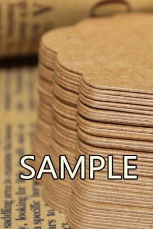 Photo4: Kraft paper custom tags gift tags product tags Handmade tags DIY tags - Tail