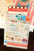 price down - Kawaii Iconic Planner Sticker Set - Drawing Market (6 sheets)