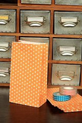 Kawaii Paper Gift Wrapping Bag - Polka Dots (10p)
