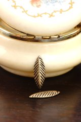 SALE-Antique Style Bronze Charms - Leaf