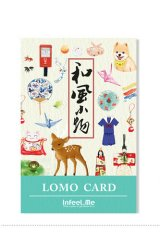 Lovely Lomo Message Card Set - Japanese Style Little Goodness