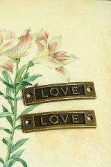 SALE - Lovely Alloy Accessory Charm - love