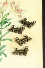 SALE - Lovely Alloy Accessory Charm - little train