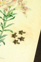 SALE - Lovely Alloy Accessory Charm - mini stars
