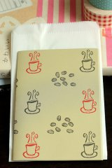 Japanese Designer Folded Letter Set - Coffee