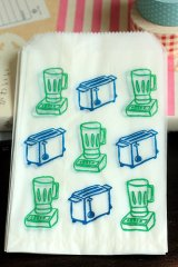 Japanese Glassine Bag - mixer