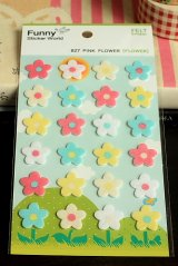 SALE - Kawaii Korean Funny FELT Decor Sticker Set