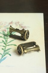 Antique Style Bronze Charms - Sewing Machine