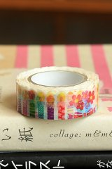 Japanese Kawaii Die-cut Washi Paper Masking Tape - Candle Bouquet