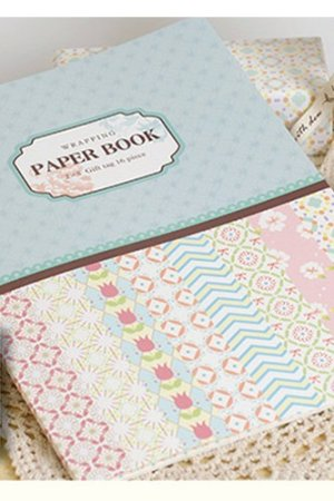 Photo1: Super Cute DIY Gift Wrapping Paper Book